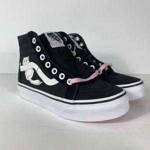 Vans Sk8-Hi Zip Hidden Kittens Black Sneakers